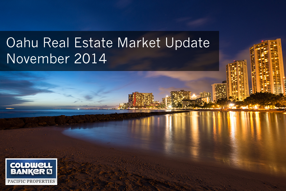Oahu Real Estate Market Update November 2014