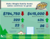 Oahu Single Family Home Sales November 2019